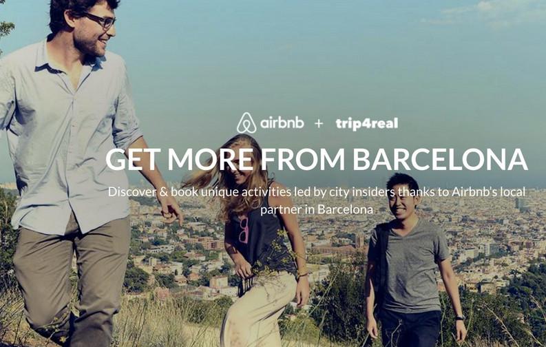 Airbnb想把旅游做成正式生意 为此它们收购了西班牙体验平台Trip4real