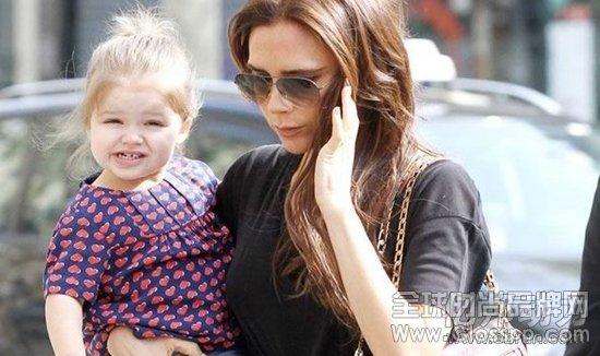 贝克汉姆女儿小七哈珀服装为ebay增加63%销量-全球