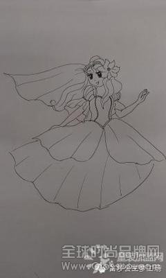 笛莎:画出你的公主 绘画大赛精彩作品晒图