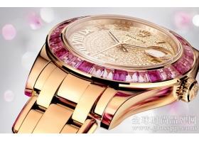 劳力士全新日志珍珠淑女型34珠宝腕表