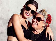 杜嘉班纳2015春夏眼镜系列广告大片
