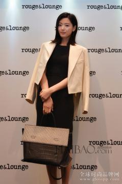 Rouge&Lounge代言人全智贤亲临上海静安嘉里中心店