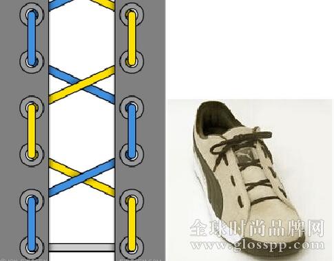 鞋带的24种系法- 全球时尚品牌网