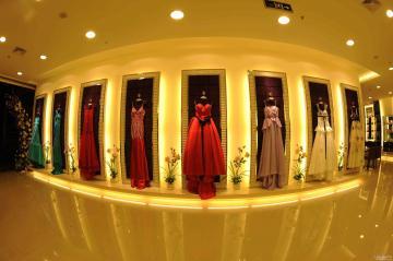 经典婚纱店装修效果图 传递幸福和甜蜜