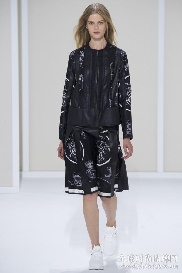 春夏巴黎时装周 hermès气质简约设计风潮