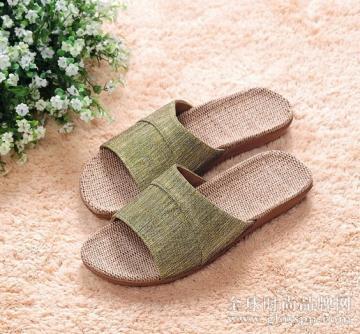 亚麻拖鞋好吗?