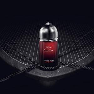 卡地亚全新Pasha de Cartier 运动黑色版男香