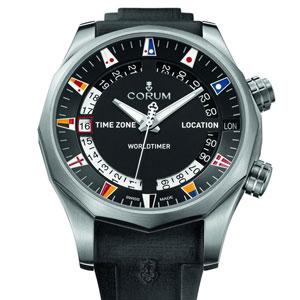 昆仑表海军上将杯Legend 47世界时间腕表