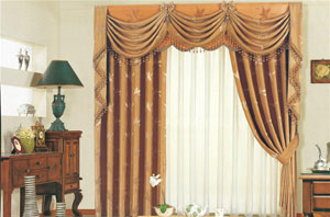 窗帘布料哪种好