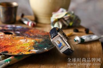 积家推出梵高《自画像》珐琅彩绘翻转腕表