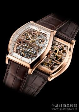 江诗丹顿原创全新Malte马耳他系列粉红金款腕表