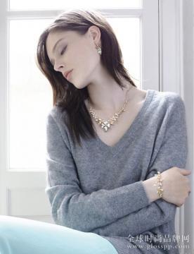 加拿大超模Coco Rocha代言奢华珠宝Roberto Bravo