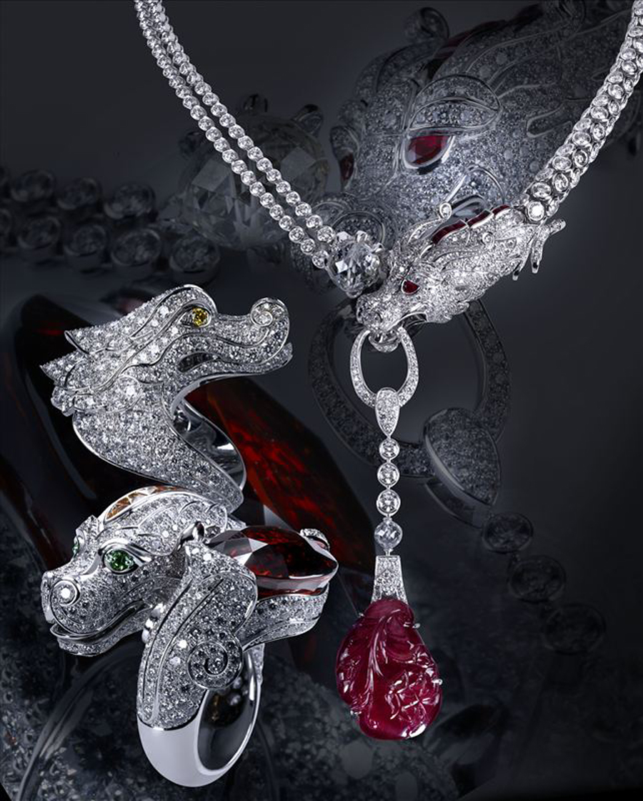 卡地亚带你进入如真似幻,神秘魅惑的珠宝世界