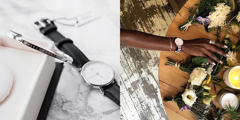 Daniel Wellington手镯搭配Daniel Wellington腕表让你有不同的质感