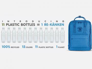 一个用回收塑料瓶做的环保包包,北极狐包包你值得拥有
