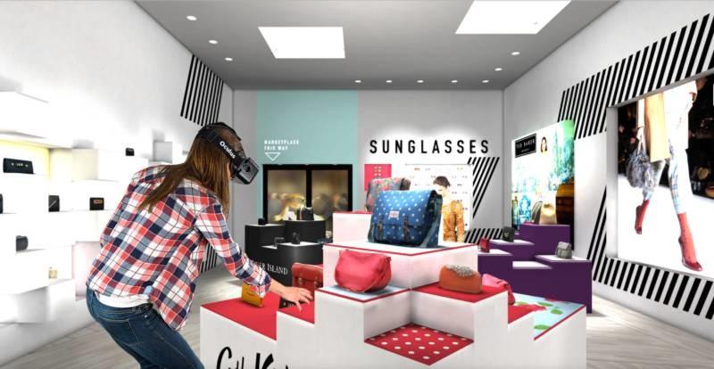 淘宝VR购物体验和美女一起互动