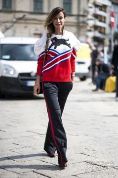 图案印花毛衣搭配 让你穿出温暖与时尚