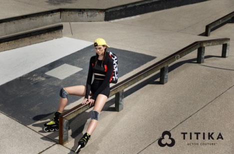 加拿大运动品牌TITIKA邀用户唤醒