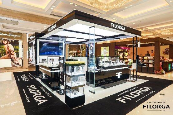 法国护肤品牌FILORGA菲洛嘉进驻上海新世界大丸百货