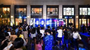 准备出发!UR潮流列车上海站首发,多重时空穿梭体验